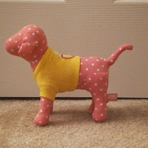 Small PINK dog, perfect gift